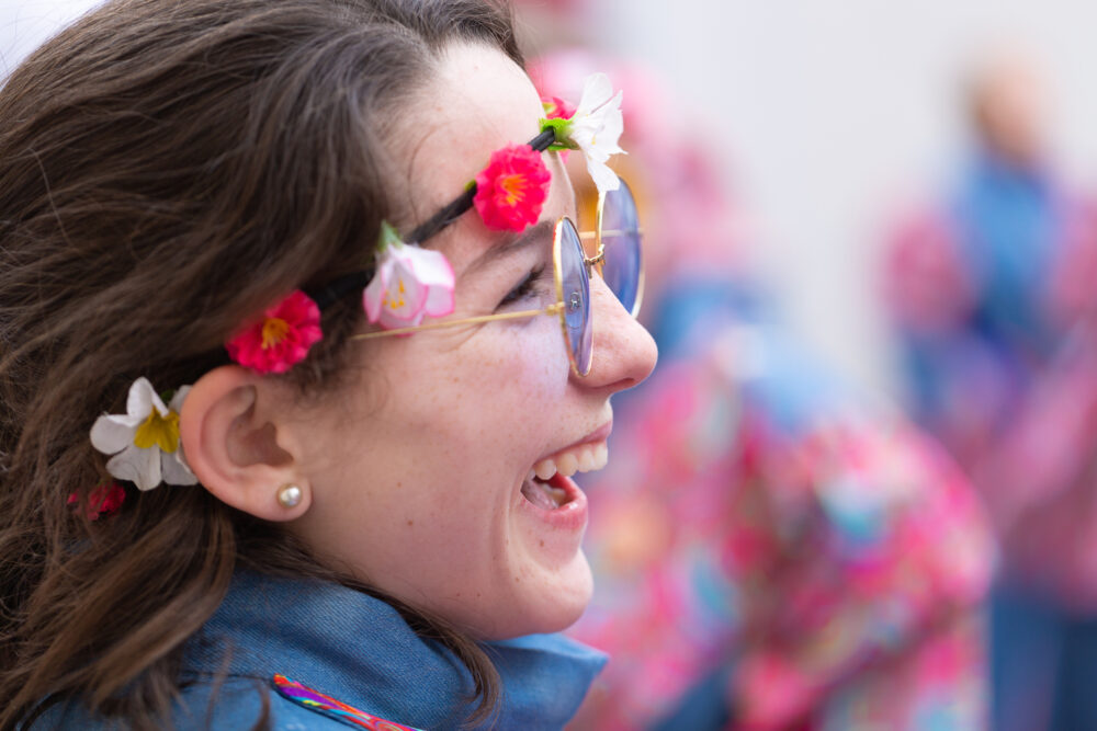 Fasnachtsclique die Antygge | Basler Fasnacht 2019 | Sujet:50 Joor Antygge-Gschicht